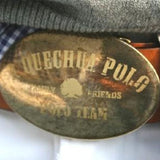 Leather Belt - A Quechua World of Polo Logo