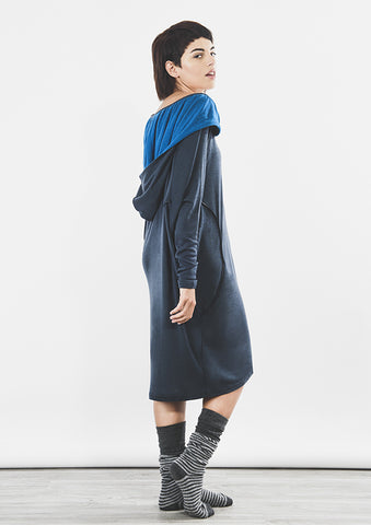 Outsider Merino Wool Hoody Dress