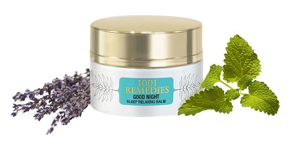 Organic deep sleep calming balm