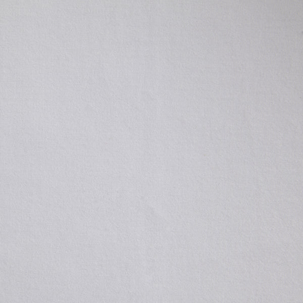 Bamboo organic cotton blend jersey fabric in white4