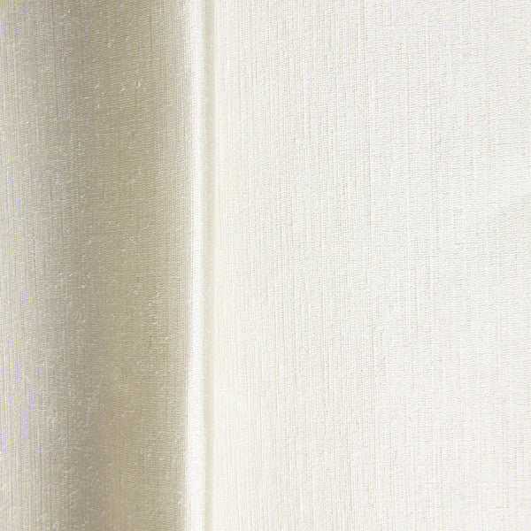 Hemp silk satin in cream