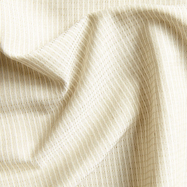 Colour grown cotton fabric in pale khaki