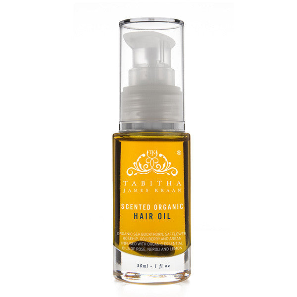 Organic scented hair oil