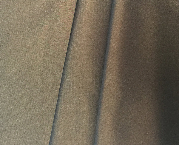 Recycled polyester woven fabric in dark bronze brown