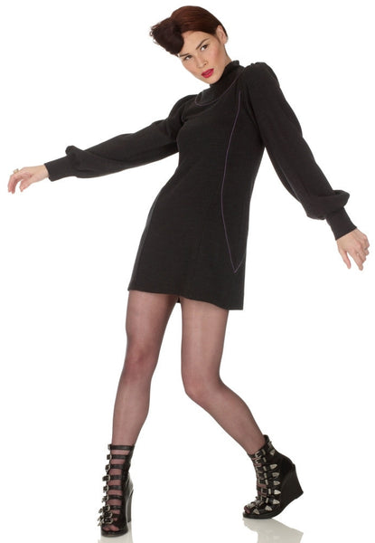 Ethical Fashion by Outsider. Sustainable Fashion using Natural Fabrics - Jersey Dress made from Merino Wool
