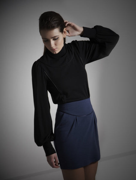 Ethical Fashion by Outsider. Sustainable Fashion using Natural Fabrics - Shirt Dress made from Merino Wool