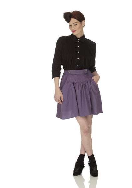 Ethical Fashion by Outsider. Sustainable Fashion using Natural Fabrics - Skirt made with Organic Cotton1
