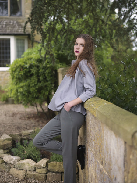 Ethical Fashion by Outsider. Sustainable Fashion using Natural Fabrics - Trousers made from Merino Wool