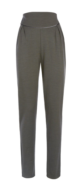 Ethical Fashion by Outsider. Sustainable Fashion using Natural Fabrics - Trousers made from Merino Wool  - in Grey
