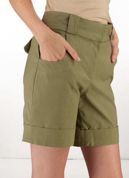 Ethical Fashion by Outsider. Sustainable Fashion using Natural Fabrics - Shorts that are made from 100% organic Cotton