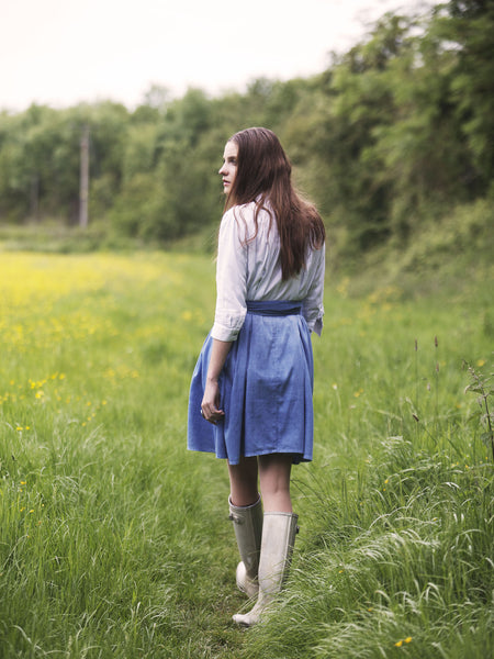 Ethical Fashion by Outsider. Sustainable Fashion using Natural Fabrics - Shirt Dress made from Organic Cotton3