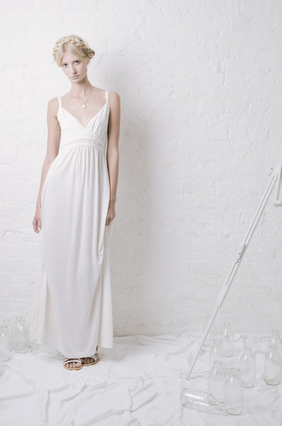 Outsider Jersey Maxi Dress Full Length, made from Bamboo, Organic Cotton and Silk - Ethical Fashion by Outsider. Sustainable Fashion using Natural Fabrics