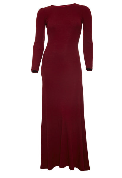 Ethical Fashion by Outsider. Sustainable Fashion using Natural Fabrics - Dress made from Merino Wool Redred