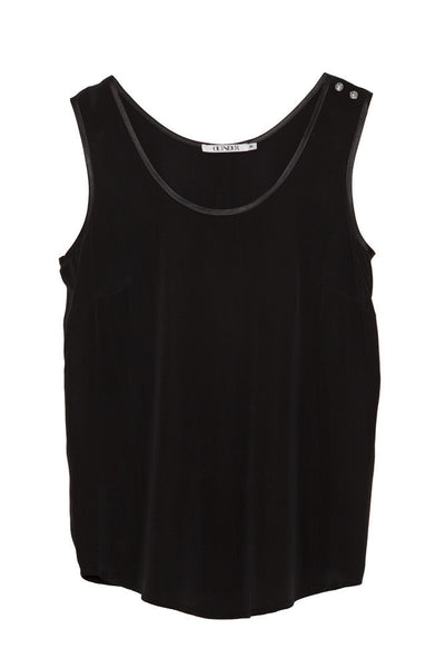 Ethical Fashion by Outsider. Sustainable Fashion using Natural Fabrics - Silk Tank top