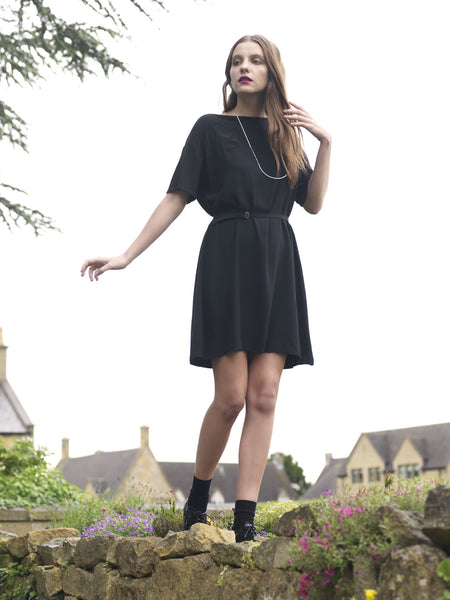 Ethical Fashion by Outsider. Sustainable Fashion using Natural Fabrics - T-Shirt Dress made from Bamboo and Silk