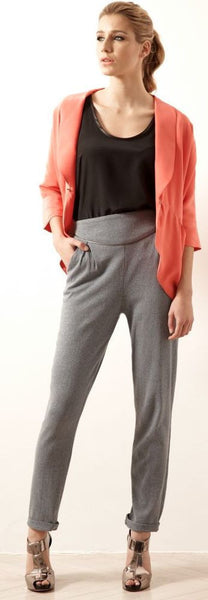 Ethical Fashion by Outsider. Sustainable Fashion using Natural Fabrics - Trousers in Pale Blue