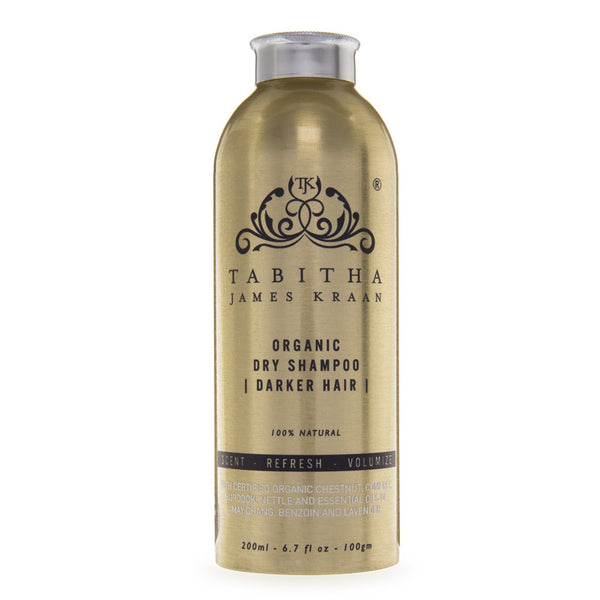 Organic dry shampoo for dark hair