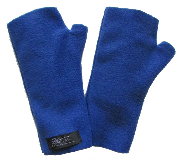 FLEECE GLOVES - in ASSORTED COLOURS