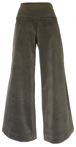 CORDUROY Classic pants OLIVE Size 16 only