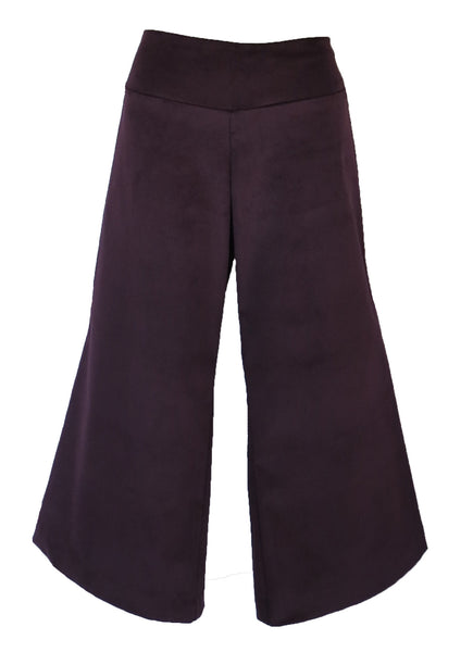 BOOT CROP - CORDUROY PLUM size 10 only