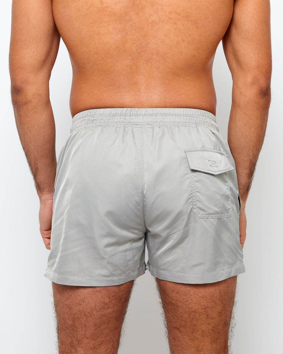 Swim Shorts - Grey - Azuaya