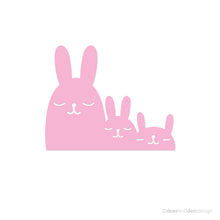 Load image into Gallery viewer, designer vinyl series - Bunny Family (set of 2 pcs)