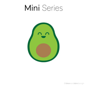 Mini designer vinyl series - Avocado