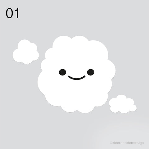designer vinyl series - Clouds