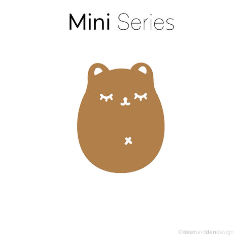 Mini designer vinyl series - Fat Bear