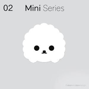 Mini designer vinyl series - Fluffy