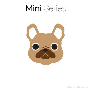 Mini designer vinyl series - Frenchie the French Bulldog