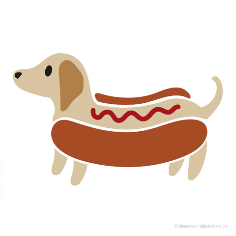 designer vinyl series - Hot Dog