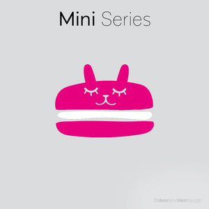 Mini designer vinyl series - Macaron Junior