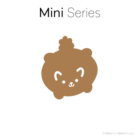Mini designer vinyl series - Puff Ball