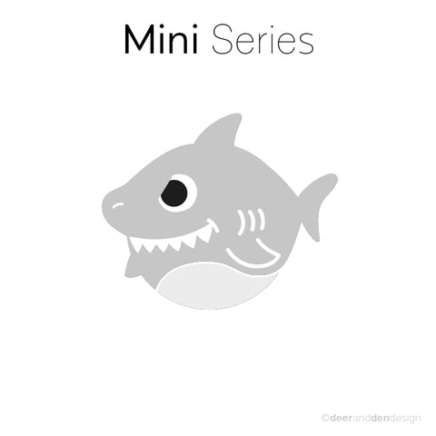 Mini designer vinyl series - Sharkey Junior