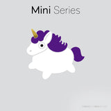 Mini designer vinyl series - Unicorn Junior