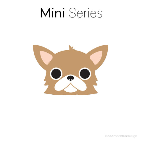 Mini designer vinyl series - Peanut the Chihuahua