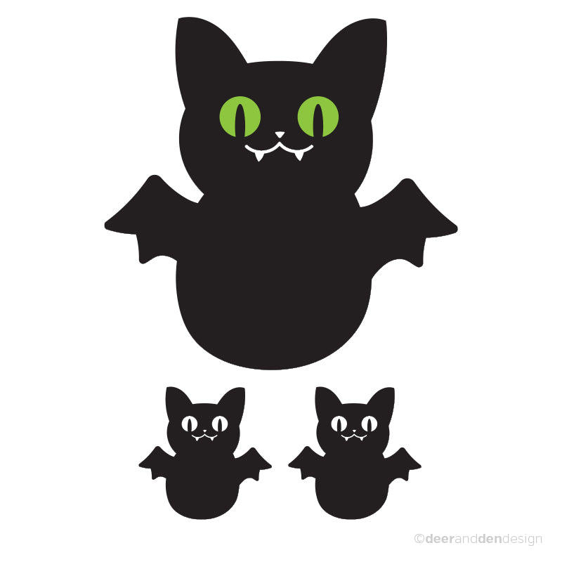 Glow in the Dark Series - Vampy Cat