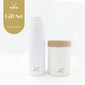 Thermos® Gift Set (Tumbler & Food Jar) with Complimentary Initials Customisation