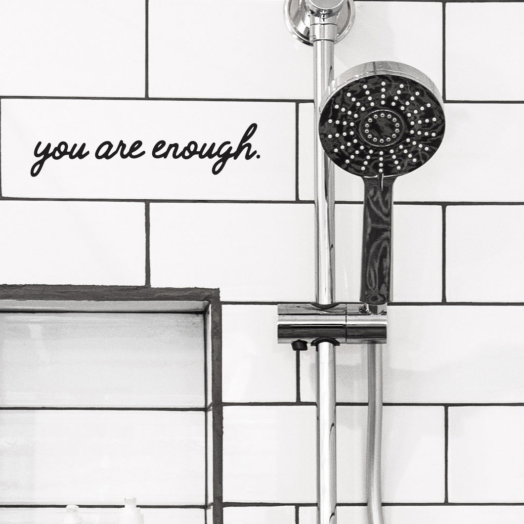 You are enough- mini wall quote