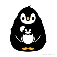 Load image into Gallery viewer, designer vinyl series - PaPa Penguin