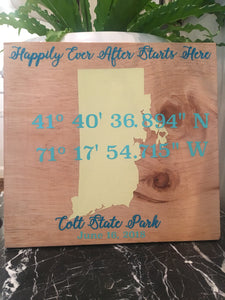 Custom Wooden or acrylic Signs