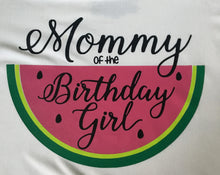 Load image into Gallery viewer, Watermelon Birthday Family Shirts