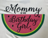 Watermelon Birthday Family Shirts