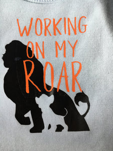 Working on my roar Apparel