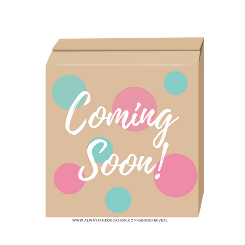 What will it BEE? Gender reveal box