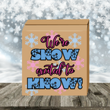 We're Snow Excited to Know! Gender Reveal Box
