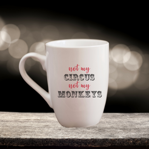 Not my Circus, Not my Monkeys Gift Set