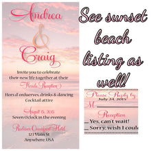 Load image into Gallery viewer, Beach bridal Shower Invitations