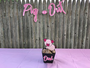 Pig Out Banner